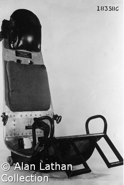 He 162 ejector seat
