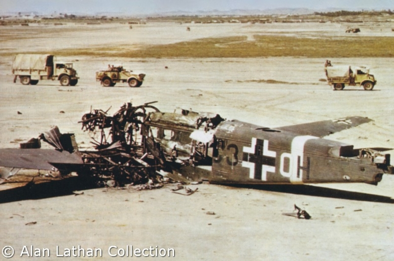 Ju-52/3m wreck C3+OH II. Fliegerkorps